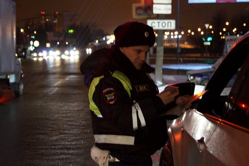 Полицейские Новой Москвы задержали нетрезвого водителя