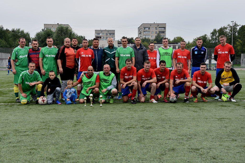 Турнир по футболу среди полицейских прошел в Новой Москве