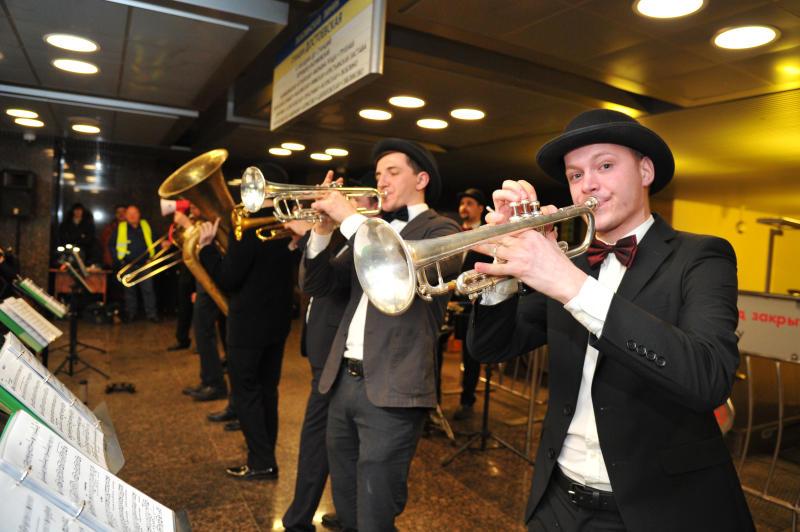 Праздник в честь дня рождения отечественного джаза прошел в московском метро