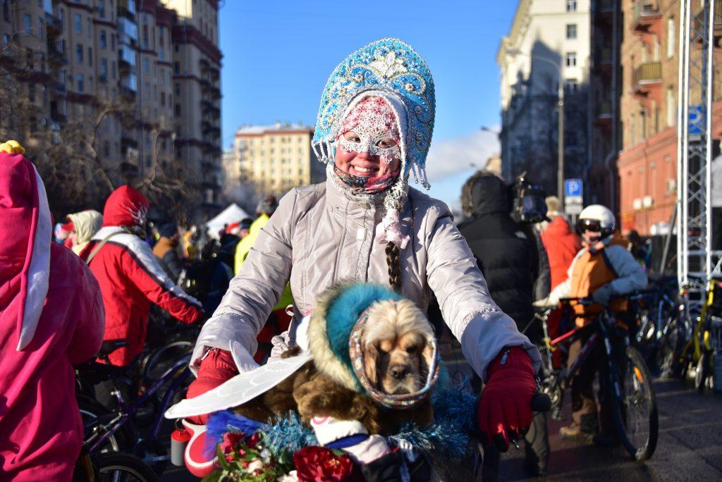 Москва примет Зимний велопарад 11 февраля
