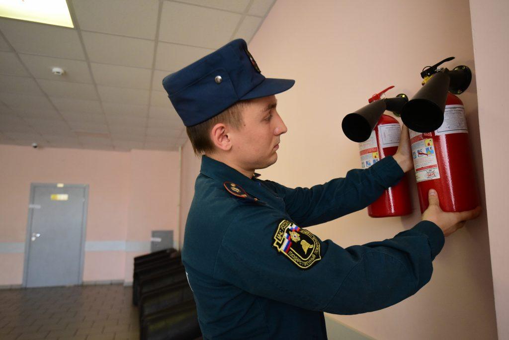 Школы Москвы получат 18 тысяч новых огнетушителей