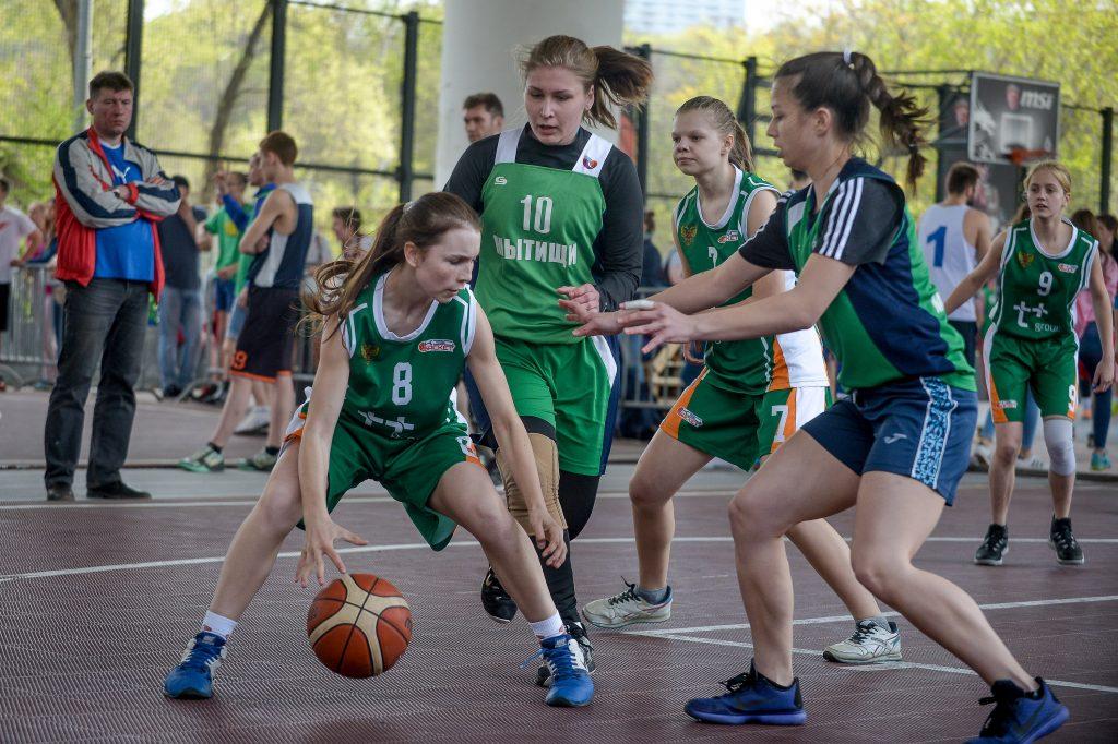 Стритболистки из Первомайского завоевали «золото» на спартакиаде