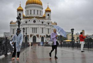 """Порядка 75 процентов осадков выпало в Москве с начала октября. Фото: архив, """"Вечерняя Москва"""""""
