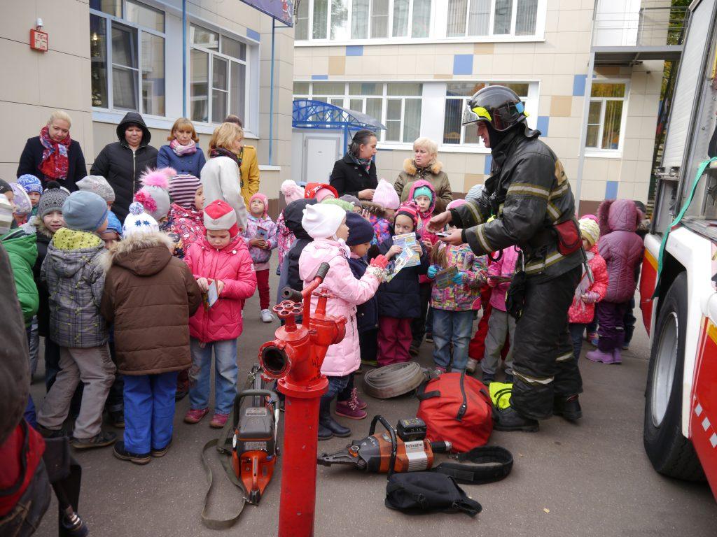 Юным троичанам рассказали о пожарной безопасности