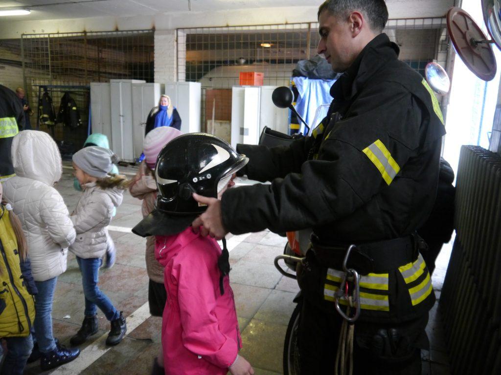 Юные жители Троицка посетили пожарную часть