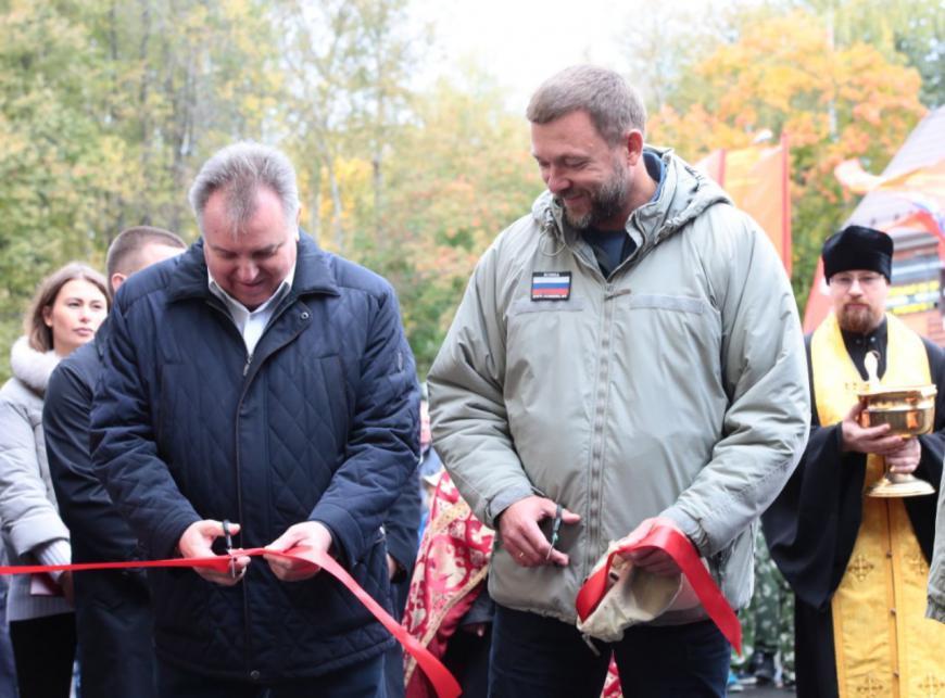 Клуб «Юный десантник» открыли в Первомайском после ремонта