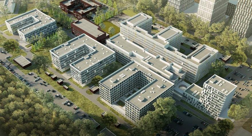 Проект новой больницы. Фото: официальный портал мэра и Правительства Москвы