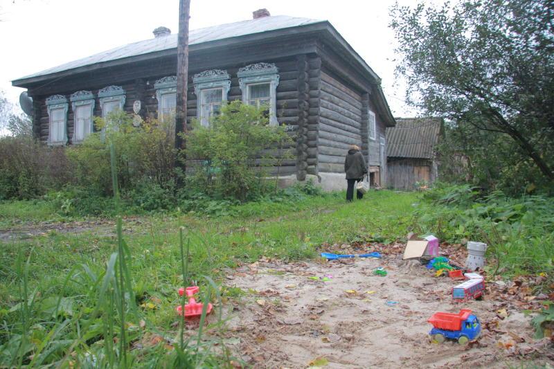 Руины старого дома продолжали жить в наших сказках