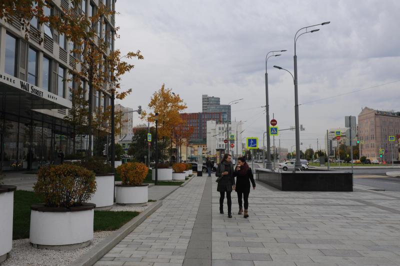 Благоустройство улиц Москвы повысило оборот розничной торговли