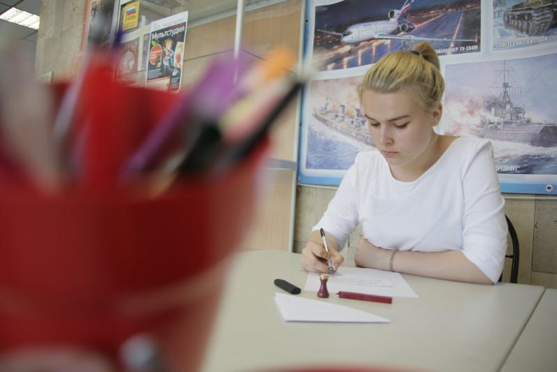 Акцию «Напиши письмо другу» проведут в Марушкинском