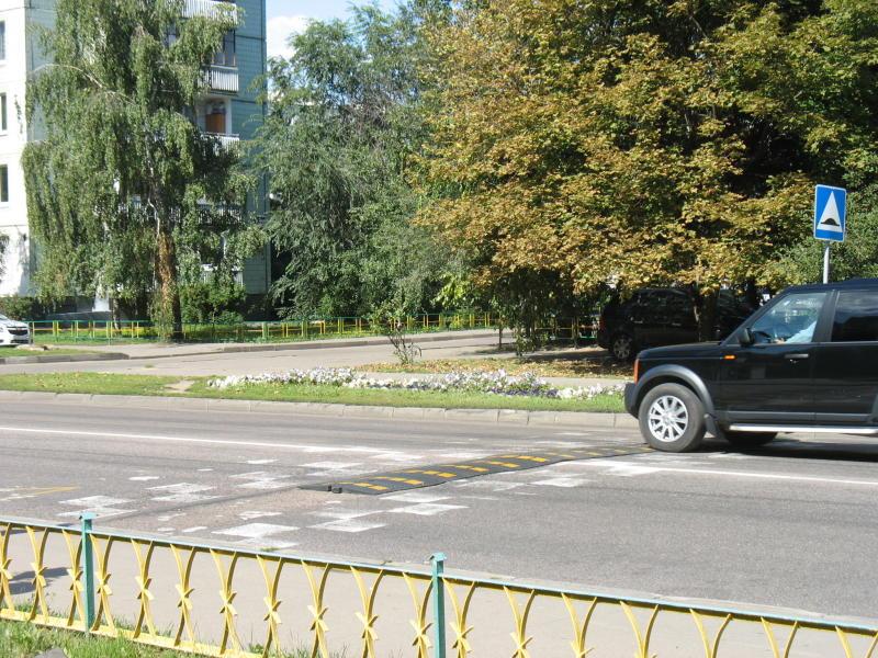 Новые «лежачие полицейские» появятся в Первомайском