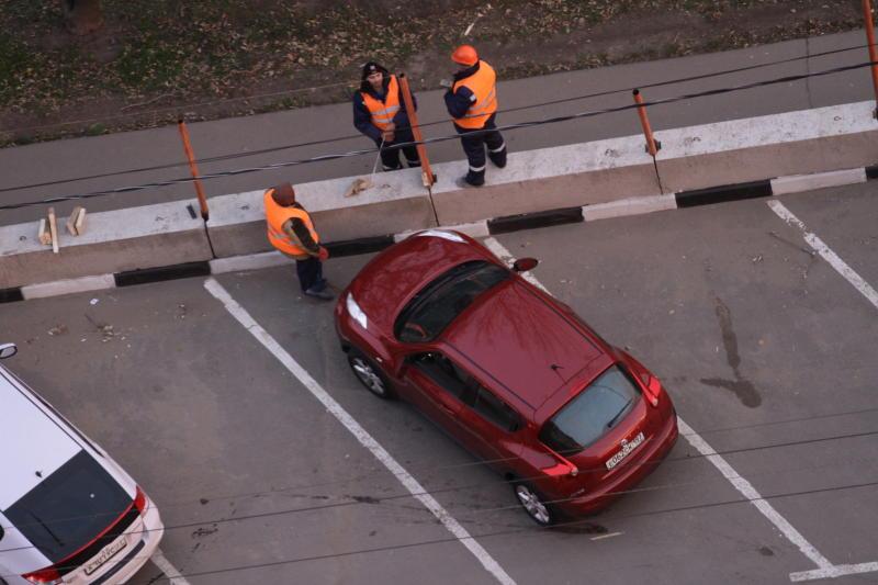 Парковку на 75 машино-мест оборудуют в поселке Рогово
