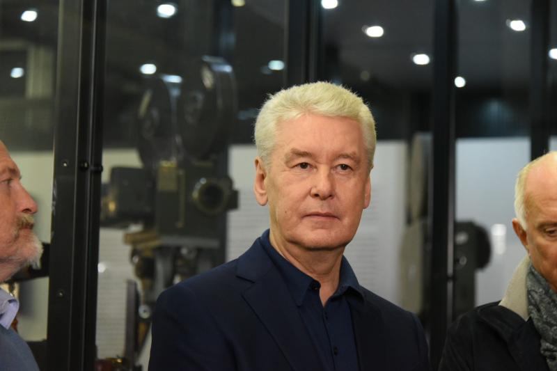Собянин открыл новый путепровод на Южнопортовой улице