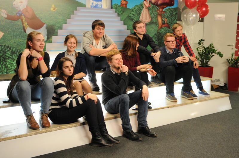 Представитель Совета депутатов Троицка встретилась со старшеклассниками