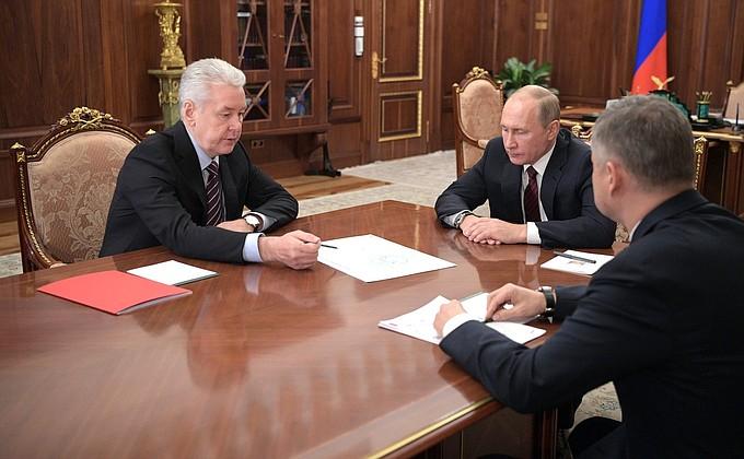 Владимир Путин одобрил новый проект наземного метро от Сергея Собянина