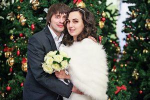 Свыше 40 пар в Москвы зарегистрируют брак в Новый год