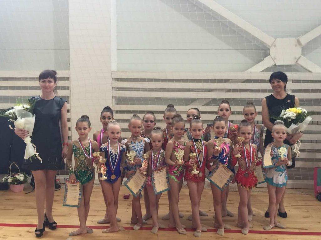 Юные гимнастки из Щербинки выступят на Турнире городов