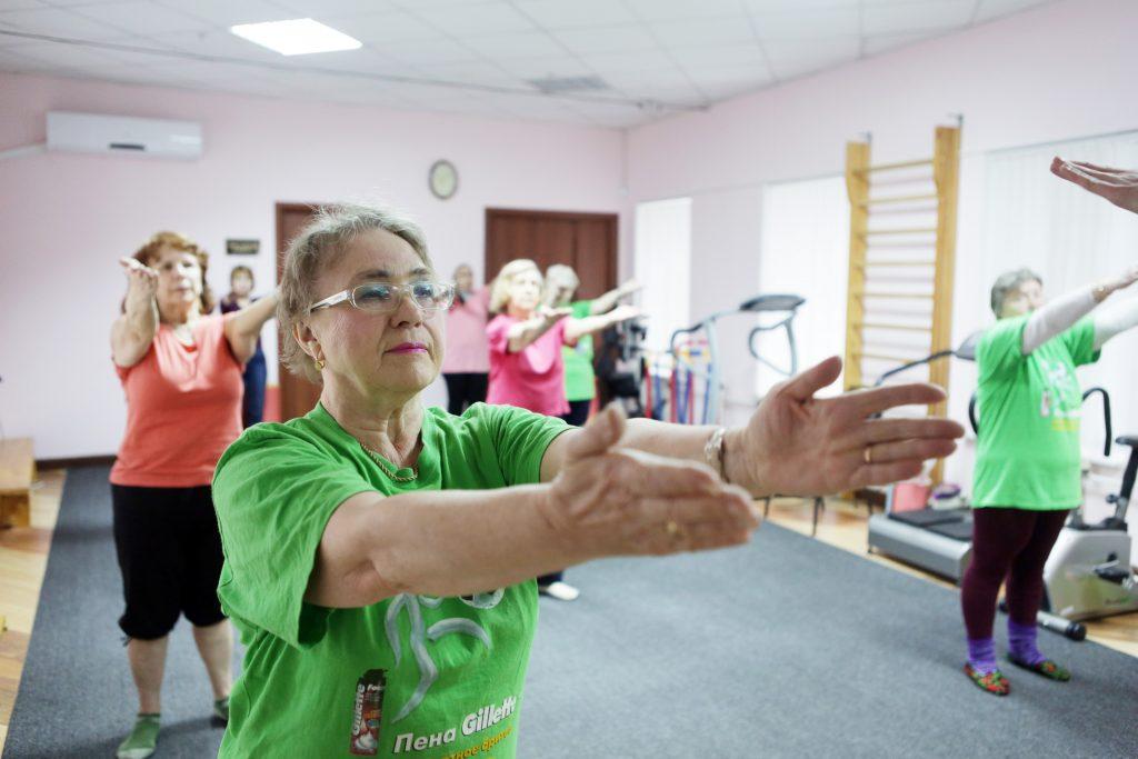 Занятия помогут поддержать форму и поправить здоровье. Фото: Анна Иванцова, «Вечерняя Москва»