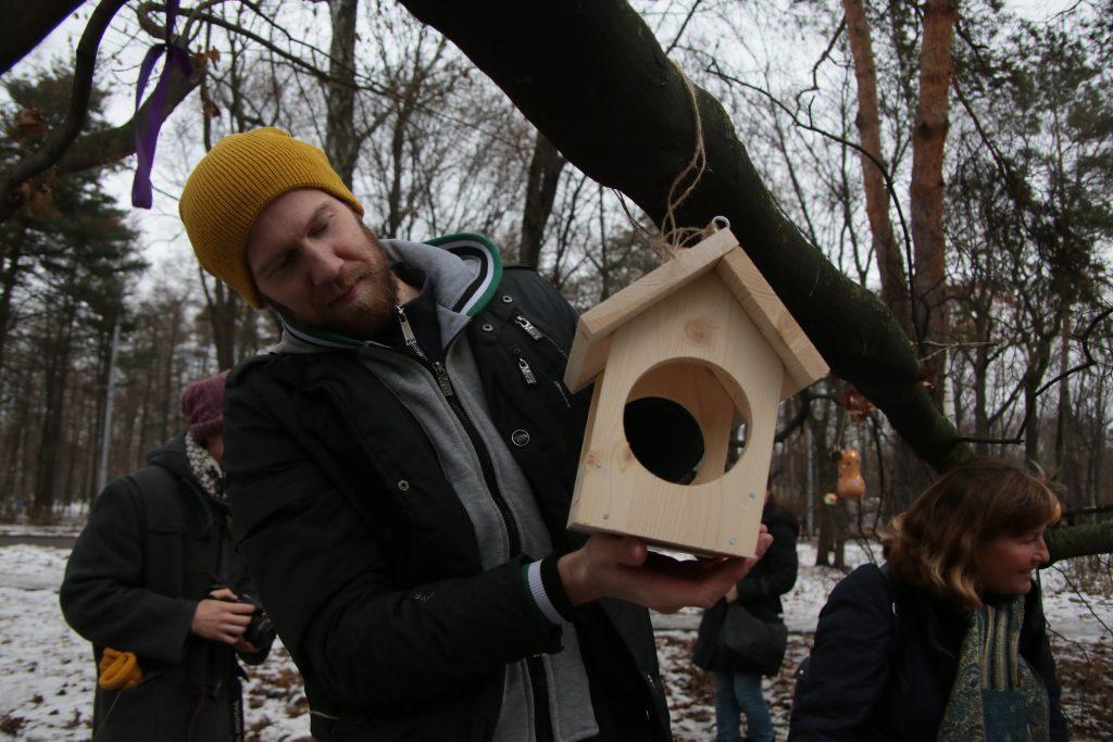 Московские орнитологи обнаружили черного дятла в «Серебряном бору»
