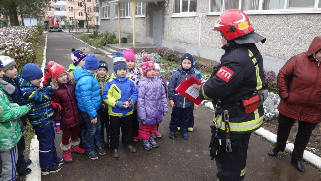 Тренировку по эвакуации дошкольников провели в Новофедоровском