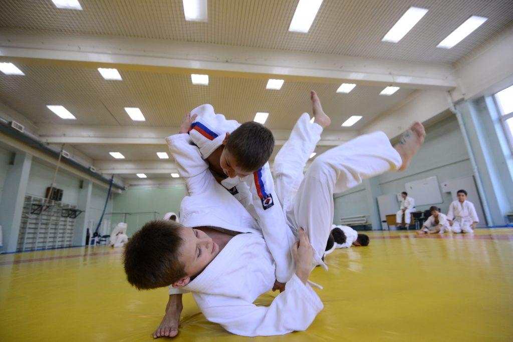 Юношеский турнир по дзюдо прошел в Центре спорта «Мосрентген»