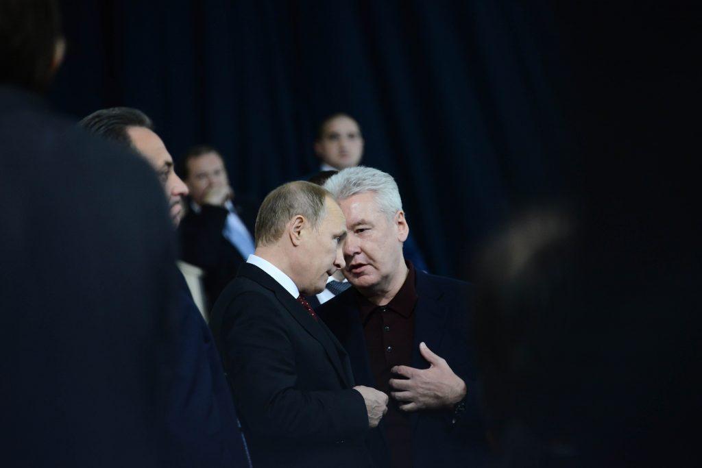 Владимир Путин и Сергей Собянин изучили проекты градостроительной политики на выставке в «Манеже»