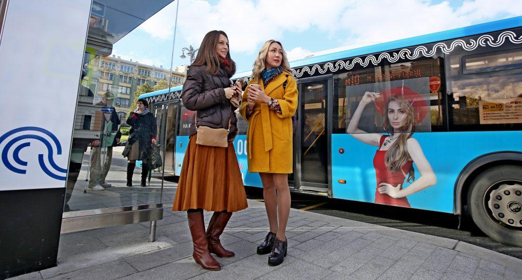 Новые автобусные остановки ввели в эксплуатацию 18 ноября