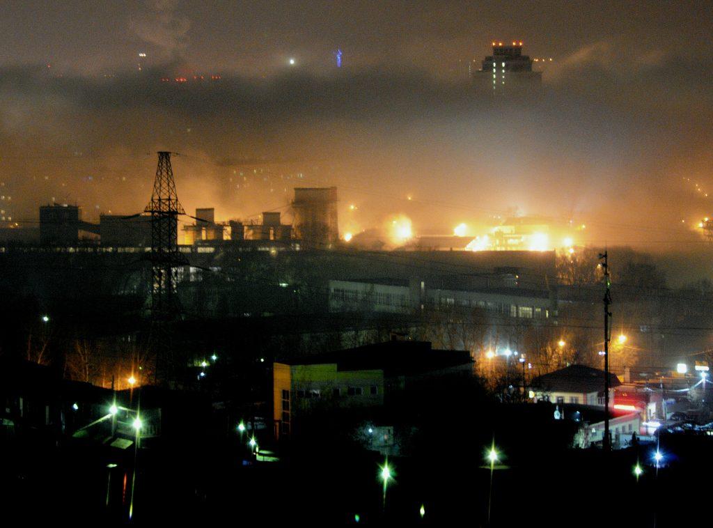 Москву напугали утренним туманом