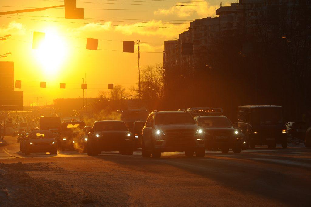 В Москве выросла скорость движения в утренний час пик
