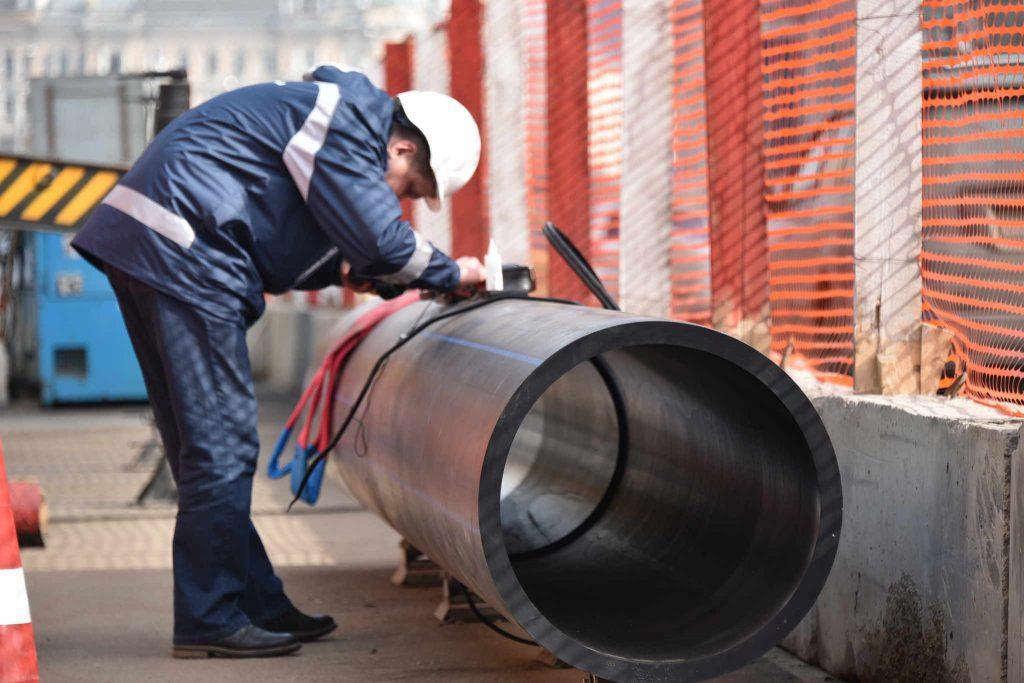 Линию газопровода построили в Новой Москве. Фото: Владимир Новиков, «Вечерняя Москва»