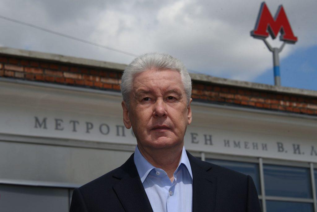 Мэр Москвы объявил досрочное открытие трех станций на фиолетовой ветке метро