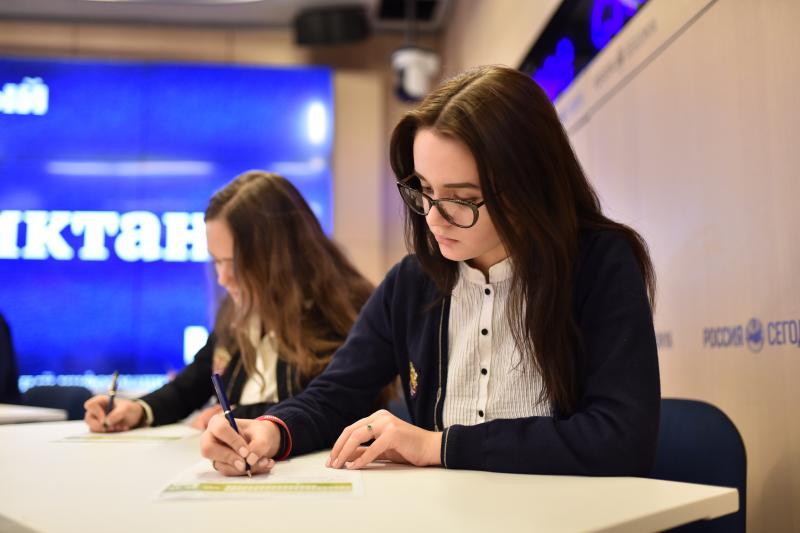 Более 25 жителей Московского написали Большой этнографический диктант. Фото: архив, «Вечерняя Москва»