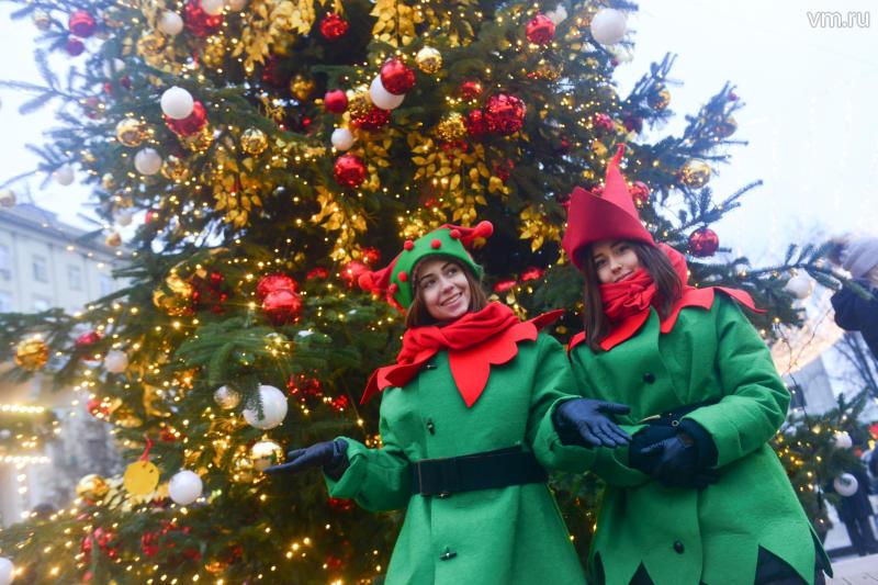 Вокзалы Москвы в декабре получат новогодние елки