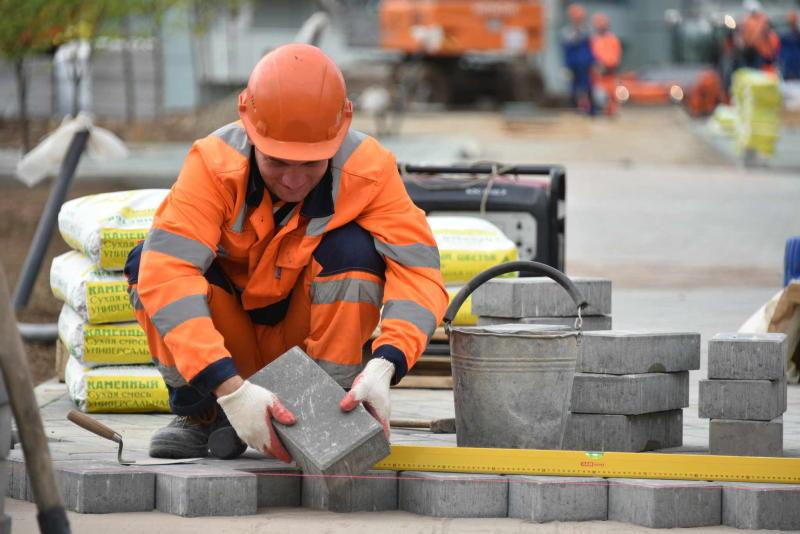 Около 70 процентов дорог построили и отремонтировали в ходе реконструкции Калужского шоссе