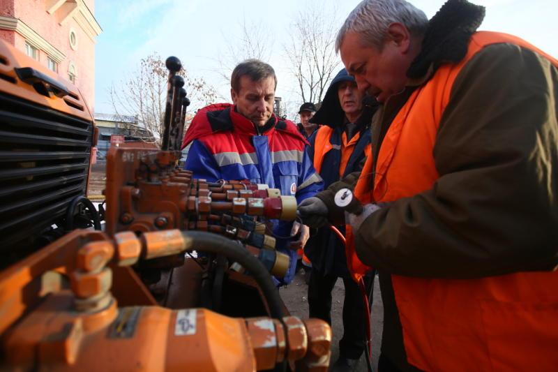 Электрификацию второго этапа Калужского шоссе завершили