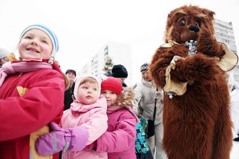 Зимнюю игровую программу организуют для детей в Щаповском