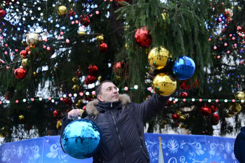 Краснопахорское украсят к новогодним праздникам