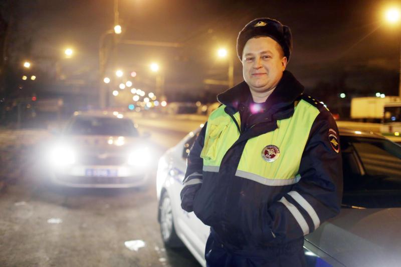 Сотрудники дорожной полиции Новой Москвы задержали подозреваемого