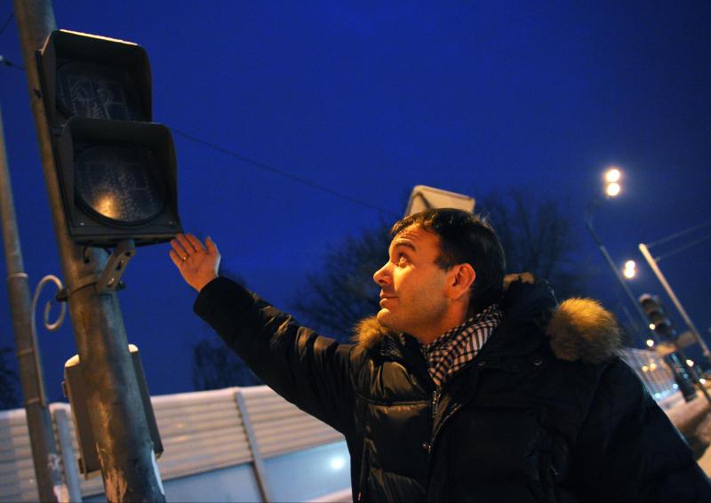 Светофоры установят на участке Минского шоссе в Кокошкино