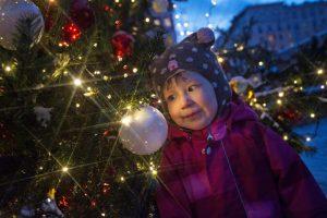 Поселение Новофедоровское украсят новогодней елкой. Фото: архив, «Вечерняя москва»