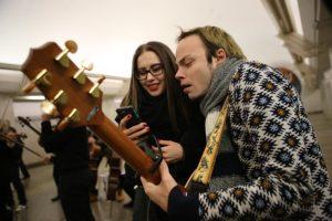 Теперь на МЦК четыре площадки проекта «Музыка в метро». Фото: Антон Гердо