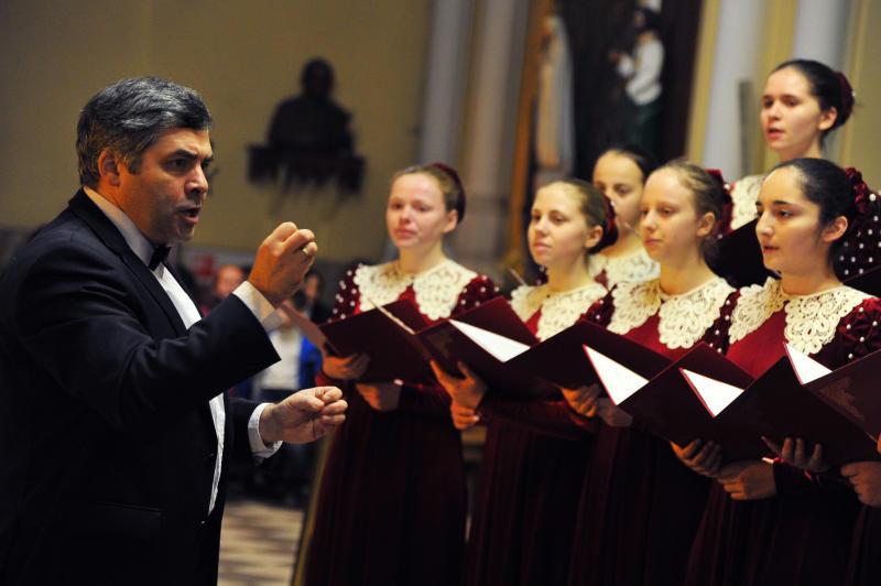 Певцы Рязанского начали готовиться в региональному конкурсу. Фото: Светлана Колоскова, «Вечерняя Москва»