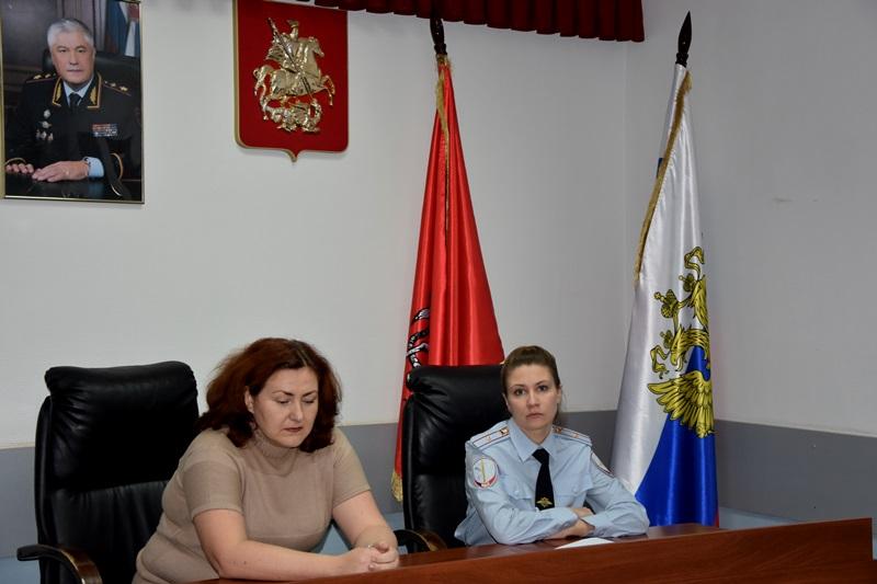 День открытых дверей для будущих выпускников прошел в отделе полиции «Троицкий»