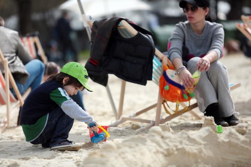 Новая жизнь пляжа «Левобережный»