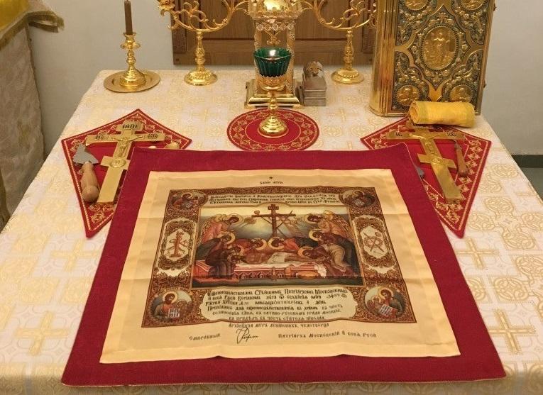 Храму Вознесения Господня в Щаповском вручили антиминс