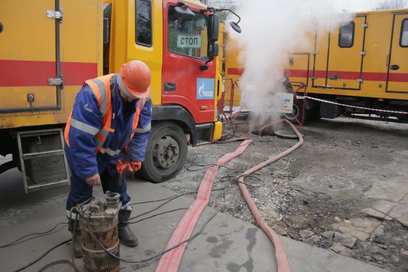 Ремонтные службы оперативно восстановили теплоснабжение на востоке Москвы