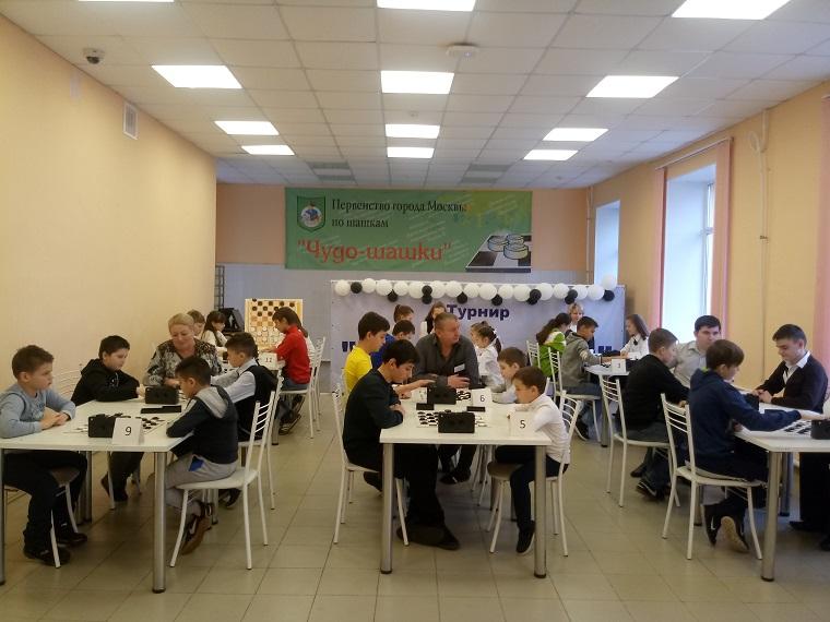 Школьники Вороновского заняли второе место в турнире по шашкам