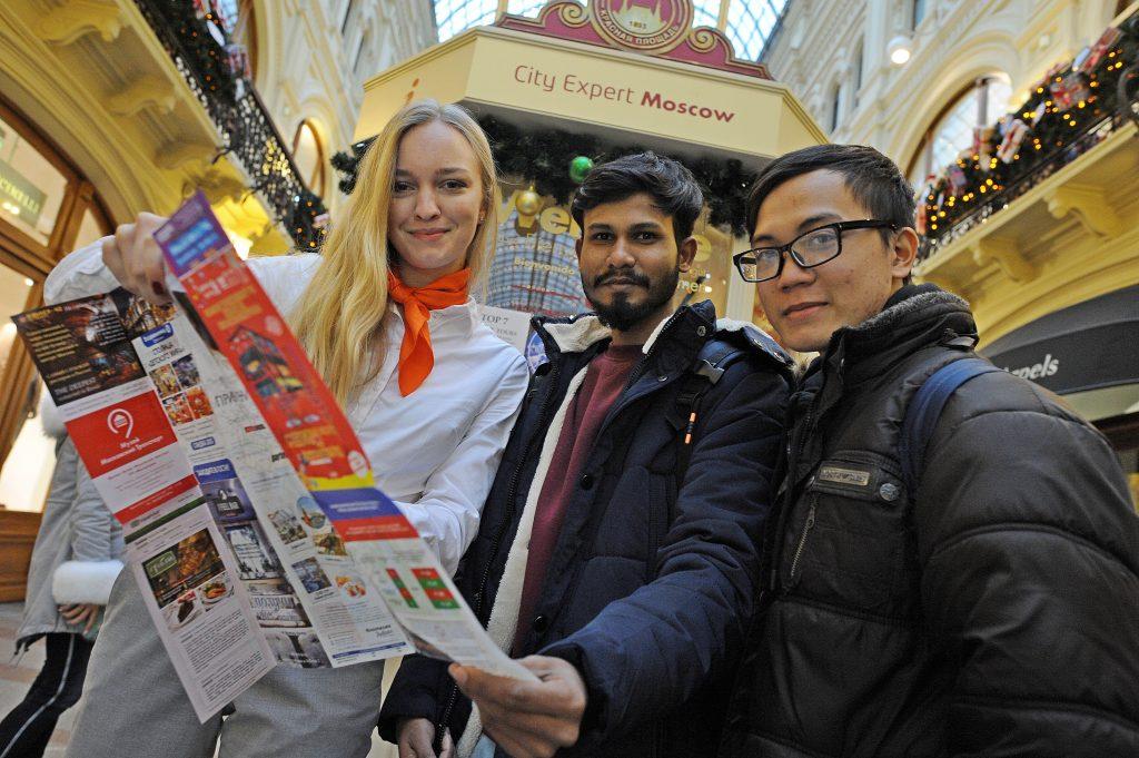 В Москве стало на 65 процентов больше туристов