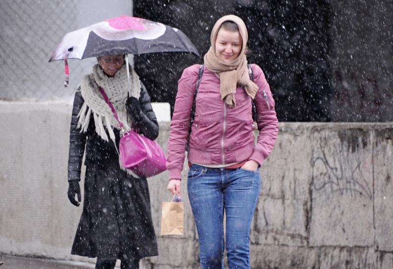 Около 30 процентов месячной нормы осадков выпало в столице 1 декабря
