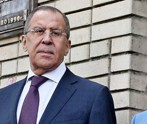 Сергей Лавров открыл в Москве памятную доску послу РФ в Турции Андрею Карпову
